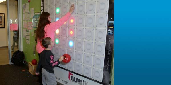 Kids Playing Light Board Game